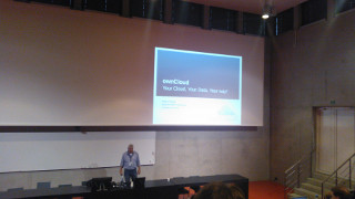 ownCloud presentation during Linux Days 2012