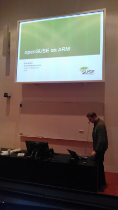openSUSE on ARM at Linux Days 2012