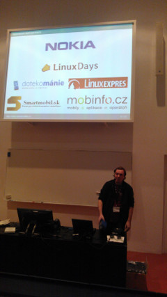 OpenMobility Presentation at Linux Days 2012